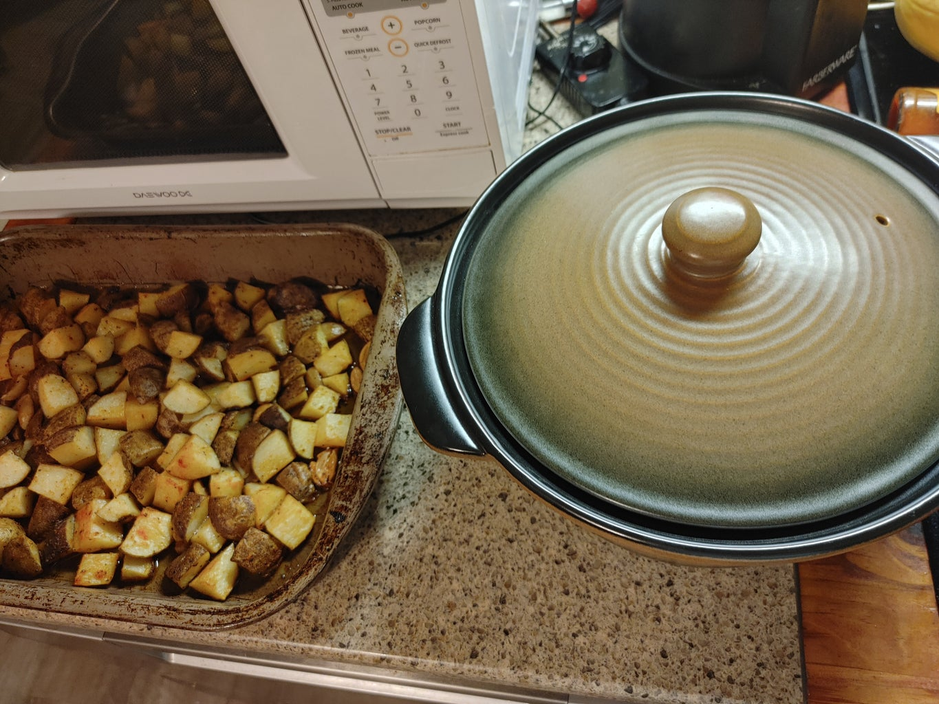 Potatoes and Plate!