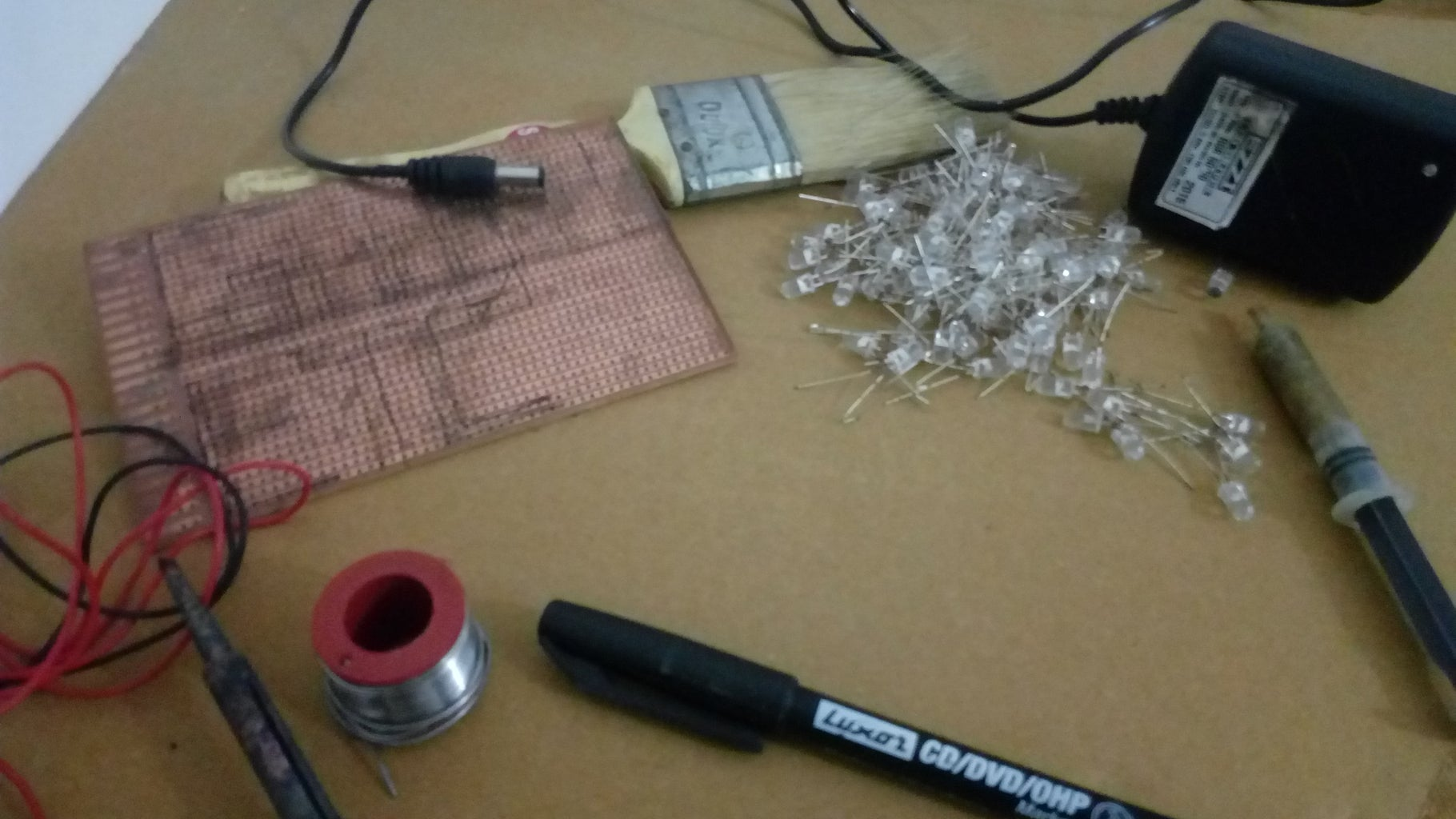 Step 1:-Materials and Tools Required