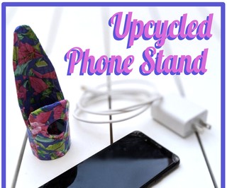Tiny Upcycled Smartphone Stand