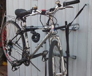 Bike Holder Repurposed As Bike Repair Stand