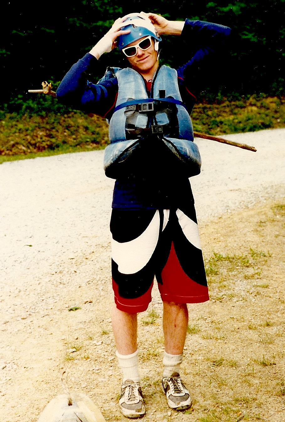 Kayakers - Keep Your Elbows in or Dislocate Your Shoulder