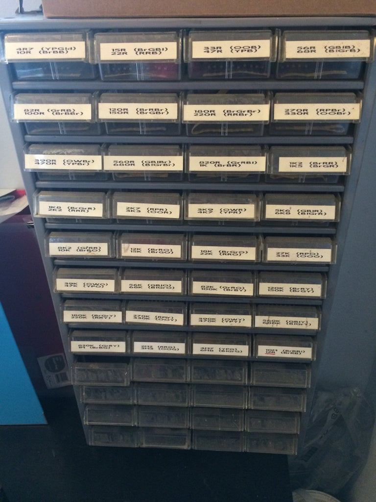 Compact Component Storage System