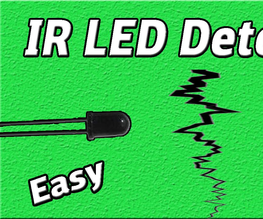 IR Detector Project | IR Sensor | Photodiode Circuit | Easy Electronic | DIY