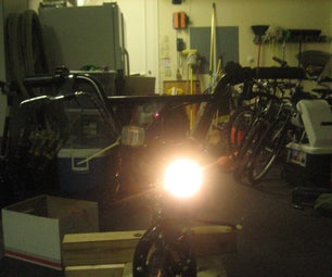 Recycled Cycle Light