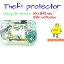 Theft protector using tilt sensor
