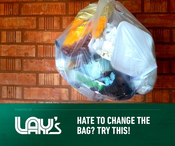 Trash Bag Changing Hack