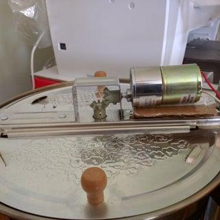 Motorized Coffee Roaster From Popcorn Maker