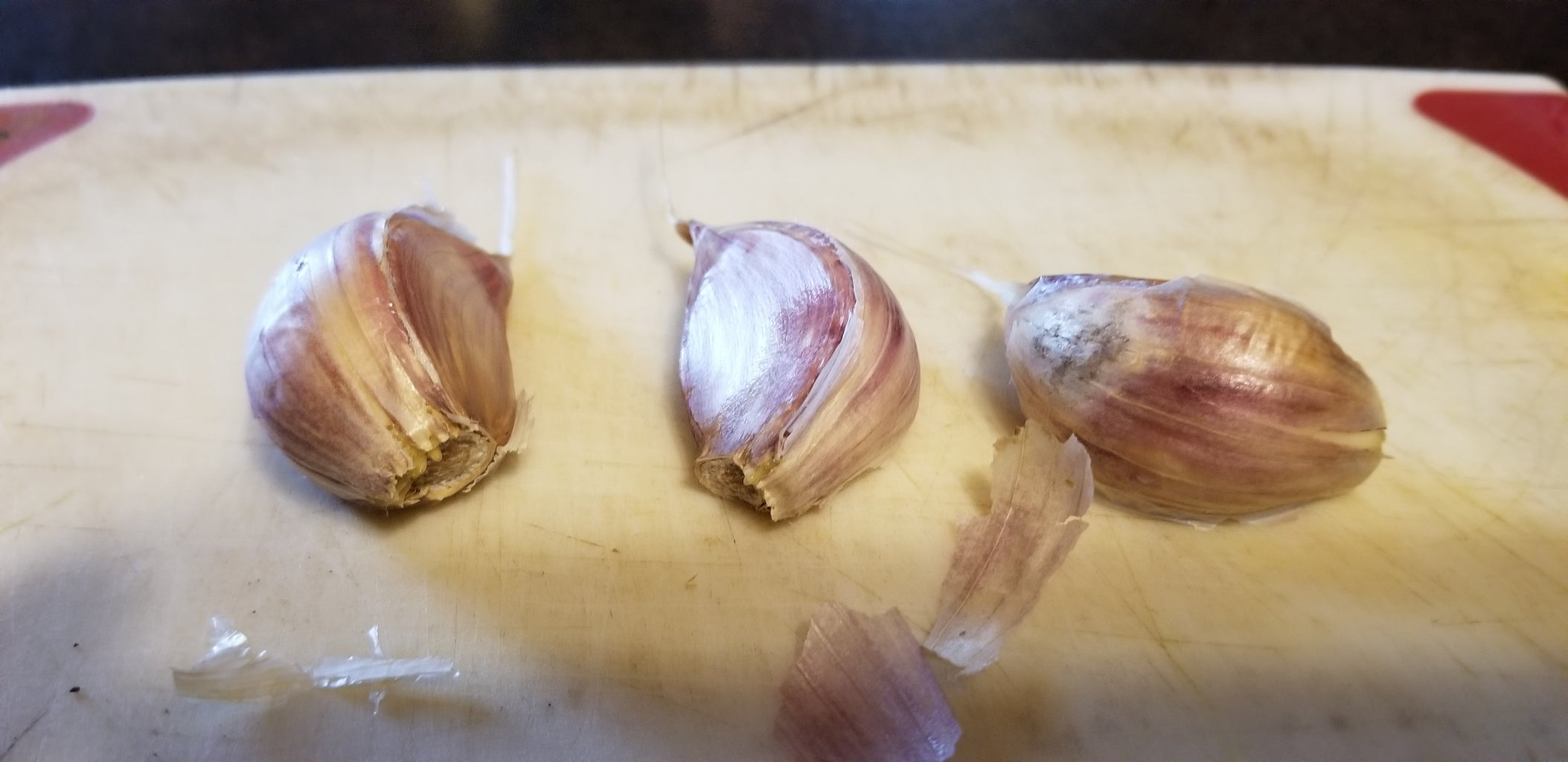 Time for the Garlic