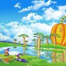 Create a Whimsical Halloween Landscape
