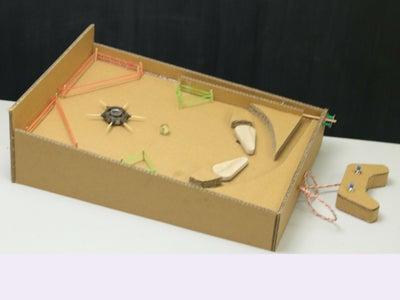 Pinball Game Cardboard