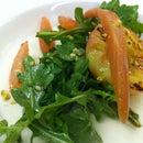 Grilled White Peach Salad