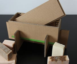 Cardboard Soap Mold With Lid and Base