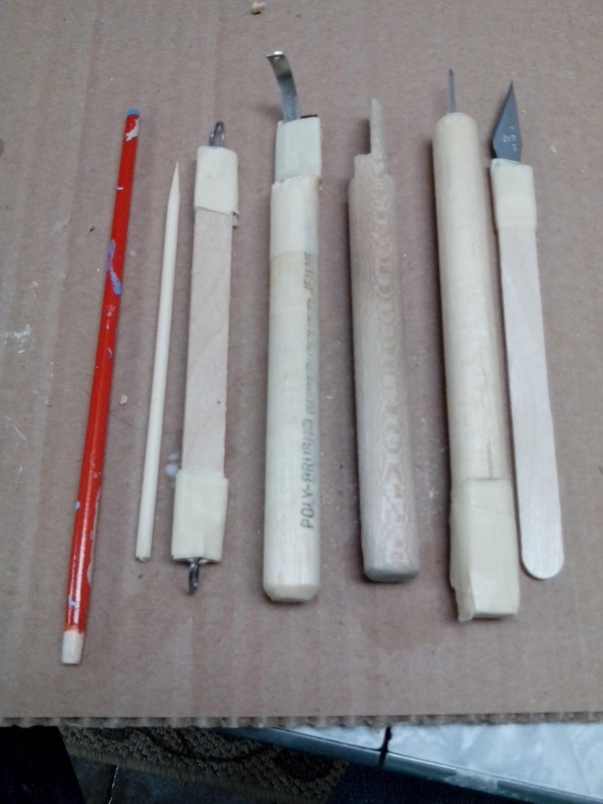 Cheap sculpting tools