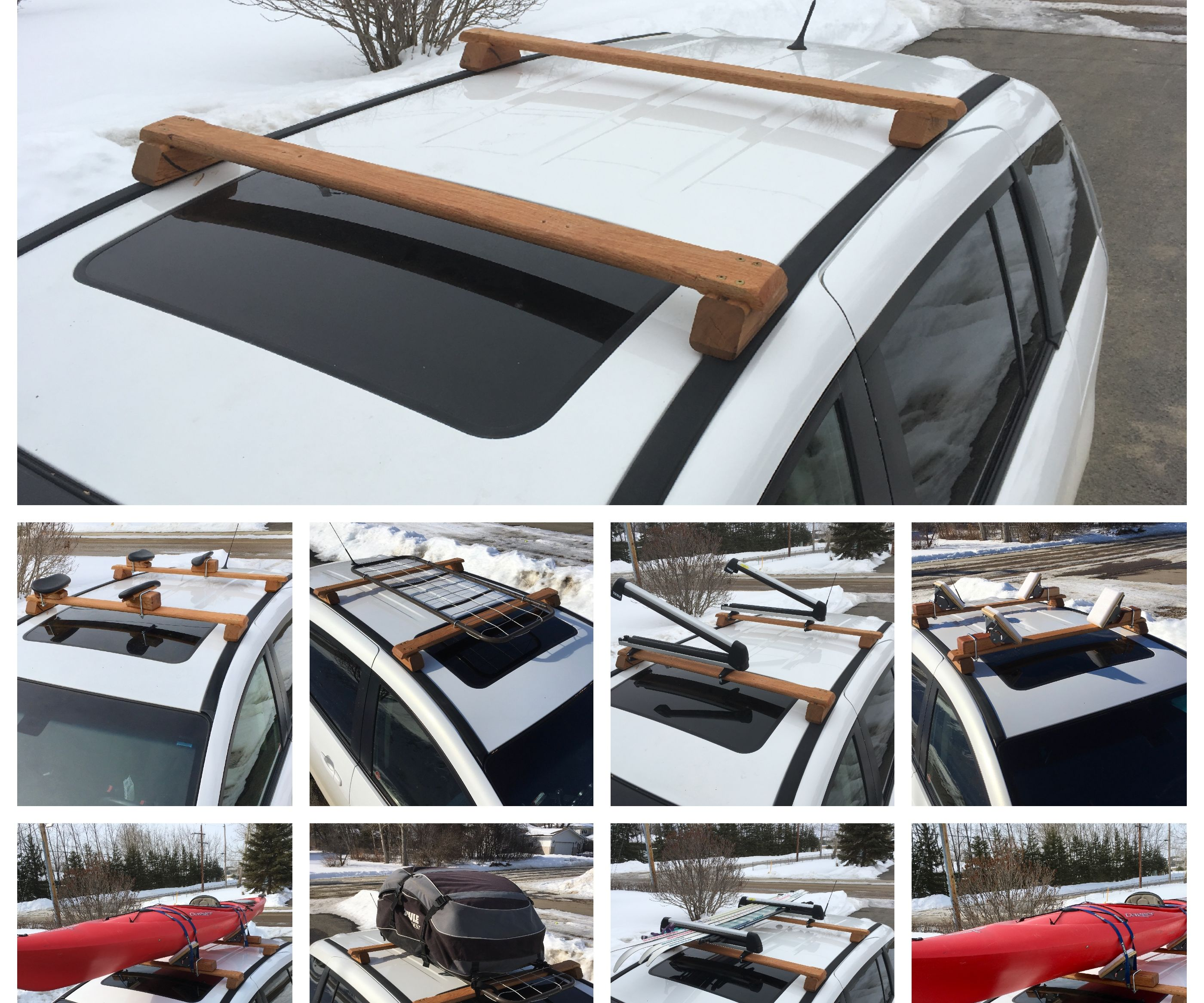 Wooden Roof Rack 21 Steps With Pictures Instructables