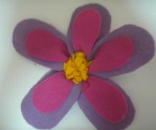 Fabric Flower ^___^