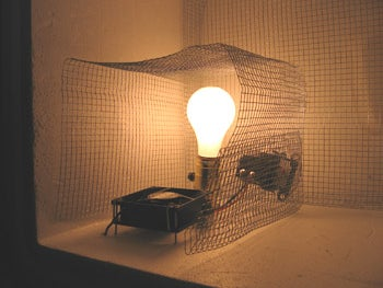 Create a 'safe' Area for the Light Bulb, Fan, and Thermostat