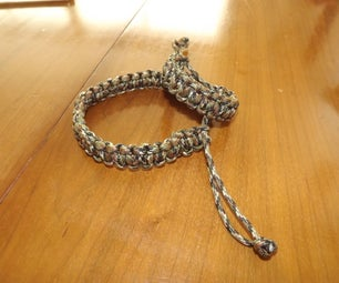 No Buckle Paracord Braclet
