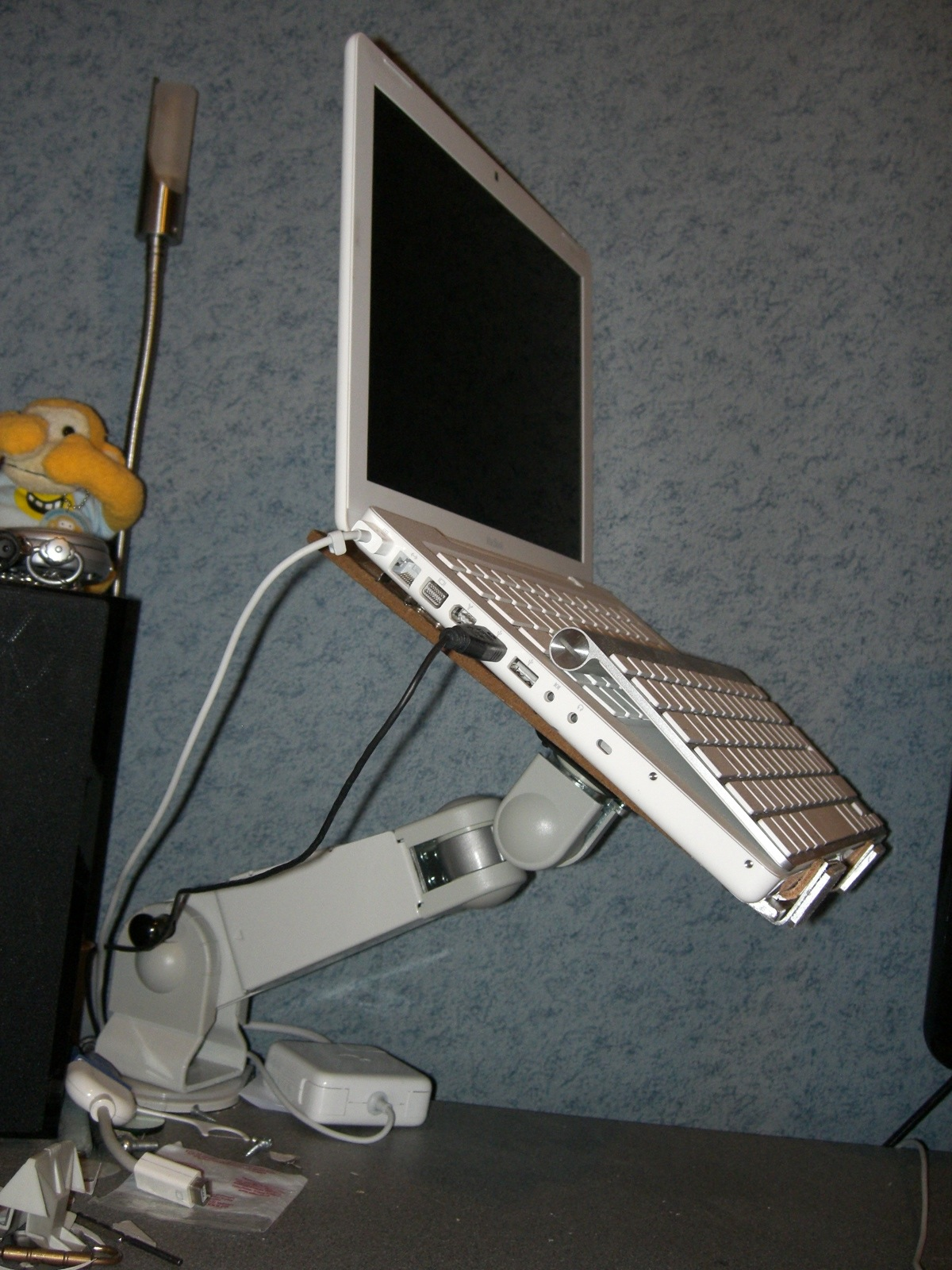 Adjustable Vesa Arm Laptop Stand