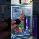 LCD Stickman Game