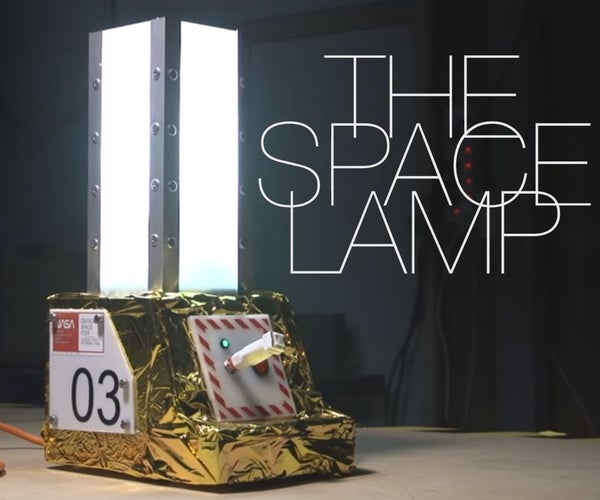 The Space Lamp - Featured Maker: Giaco Whatever