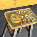 Candy Resin Stool