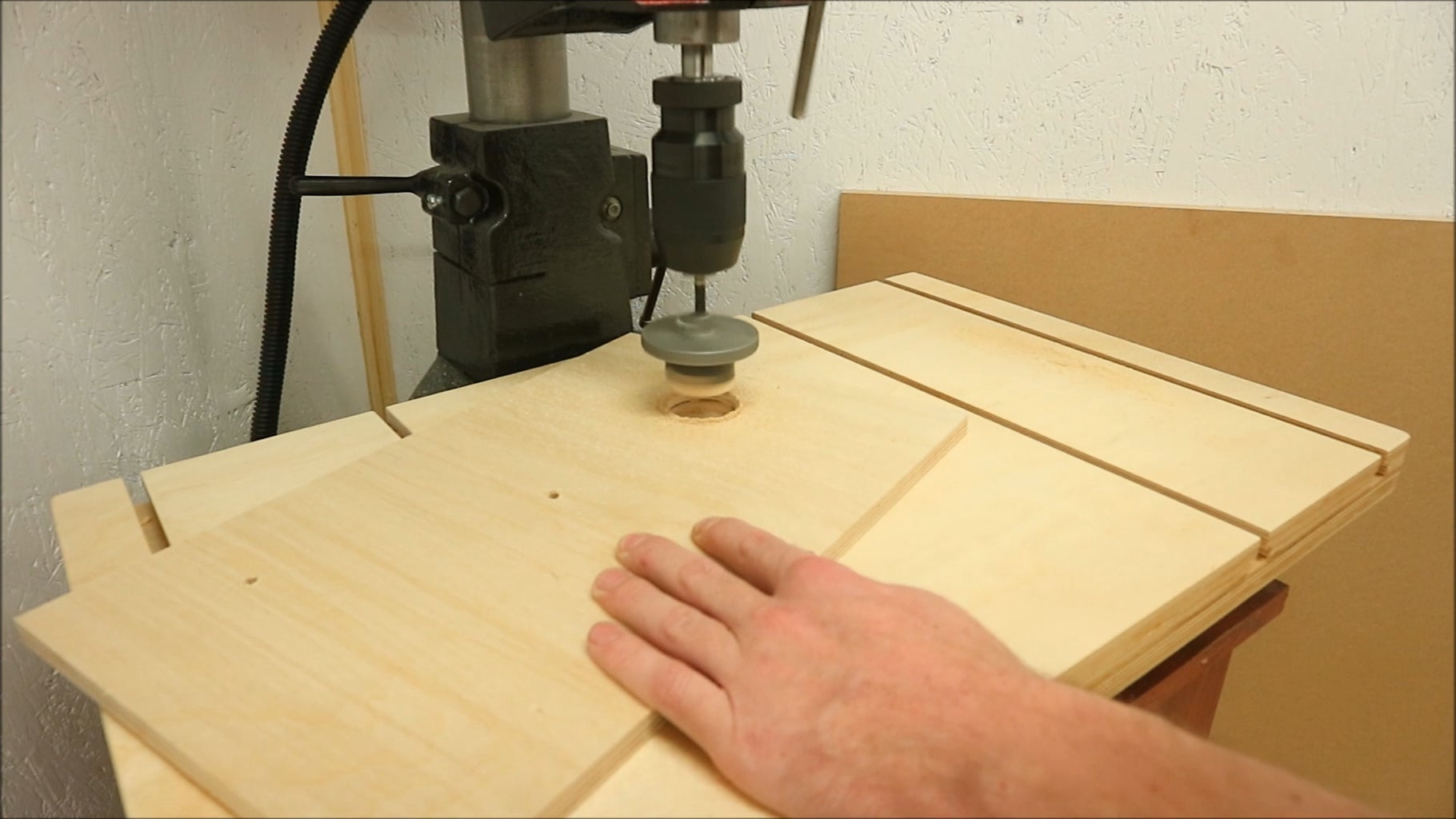 Making the Shelf to Hold the Tools