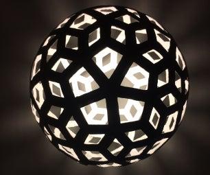 Newspaper Pendant Lamp