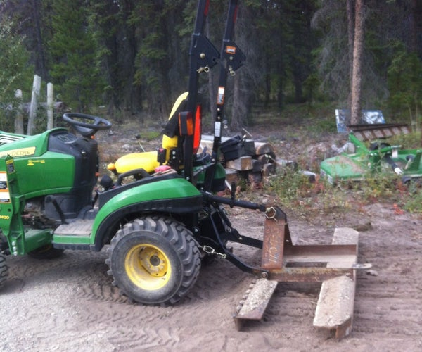 Adjustable Harrow and Leveling Implement