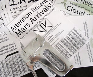 Phony Fliers With Rip-off Tabs