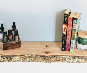 Live Edge Floating Shelf... From Scratch