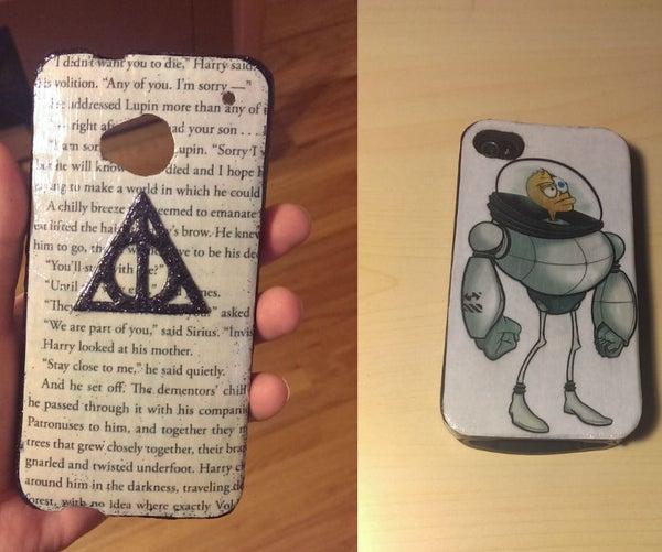 DIY Mod Podge Phone Case