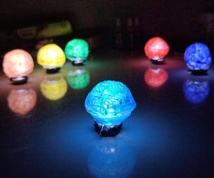 Infinity Stones - Easy DIY Using Hot Glue Gun & Led's