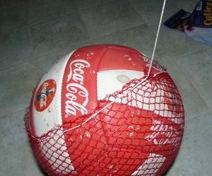 Recycled Soccer or Volley Ball Net Carrier