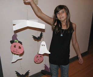 Halloween Hanging Mobile Project