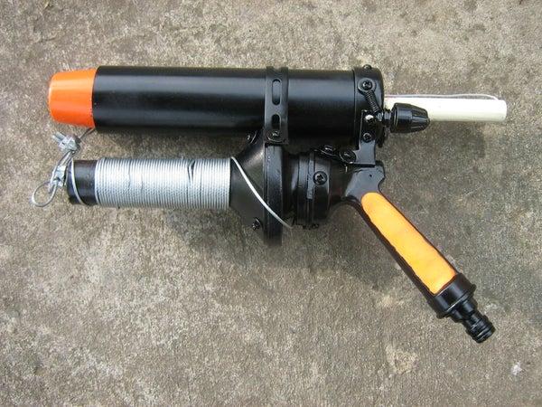 The Mini Emergency Line Gun Project