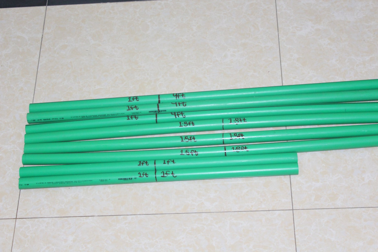SOLAR STAND FROM PVC