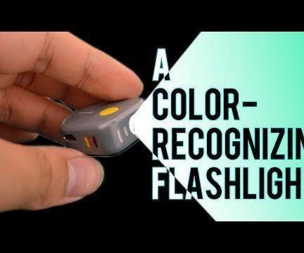 Arduino RGB Color Recognising Flashlight