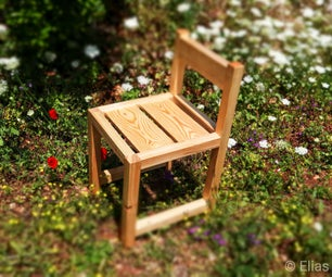 Easy Cheap DIY Chair From a 2x4