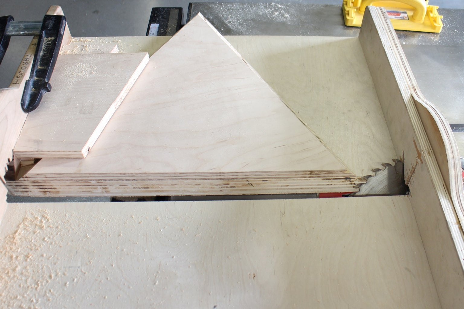 Cut Out on Table Saw