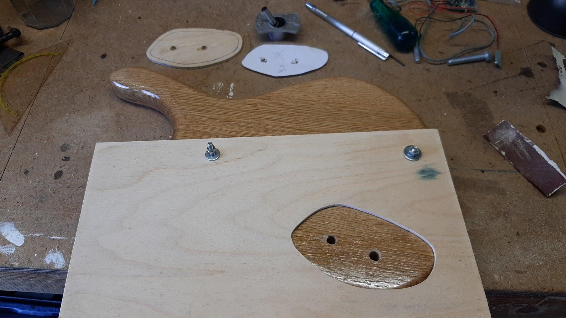 Making the Bridge for the Piezo Element