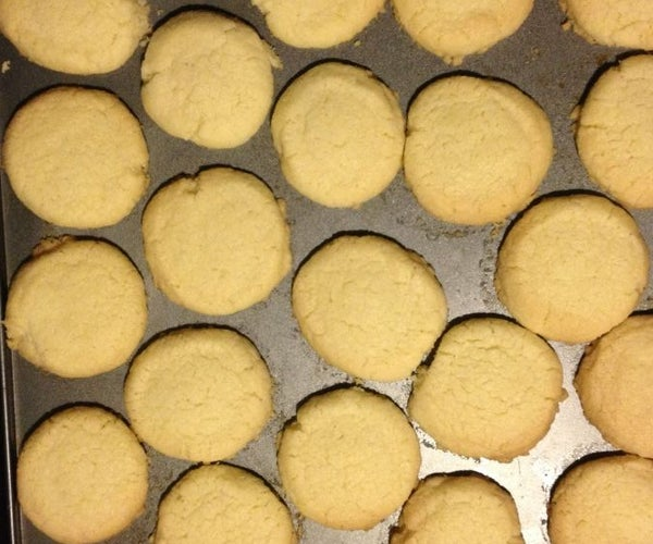 Gluten Free Short Bread Cookies (Fruits of Labour)