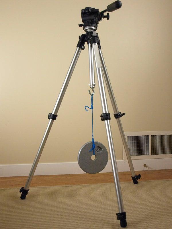 Tripod Stabilizer Weight Hook