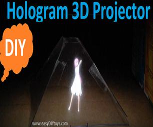Hologram 3D Projector