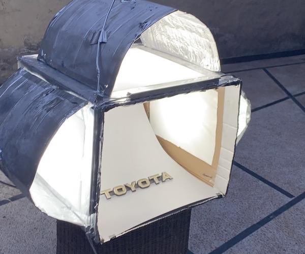 DIY LIGHT BOX by Sykopaths