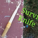 Survival Wooden Knife