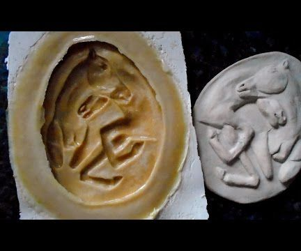 Basic Mother Mold Using Plaster of Paris Bandage for Latex Mold