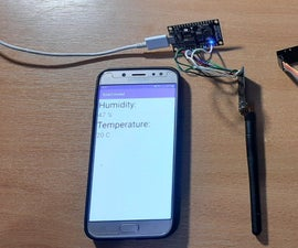 Home Weather Station With Your Own Android App