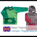 DIY Basic Sewing Tutorial T-shirt / Jacket / Sweatshirt / Jumper / Normal and Raglan Sleeves