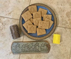 Texture Rollers - for Cookies or Clay