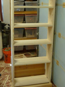 Assemble Sides to Shelves